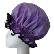 XL Ladies Shower Cap - Purple Haze