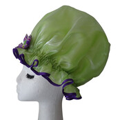 XL Ladies Shower Cap - Lime Rhumba