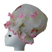 XL Ladies Shower Cap - Butterfly Garden