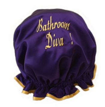 EMBROIDERED Shower Cap Design Your Own