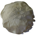 Diamante Shower Cap - FLOWER - Ivory