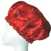 Mens Shower Cap (SMALL SIZE ONLY) - Red Skull