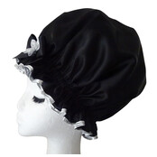 XL Ladies Shower Cap - Black Diamond