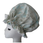 XL Ladies Shower Cap - Vanilla Ice