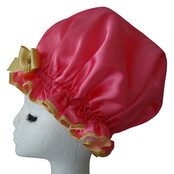 XL Ladies Shower Cap -  Hottie Pink