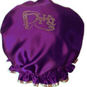 Diamante Shower Cap - DIVA - DkPurple